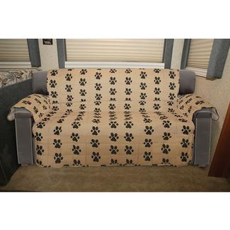 Paw Print Furniture Protector, Sofa, Seat Width- 68&quot&#x3b;