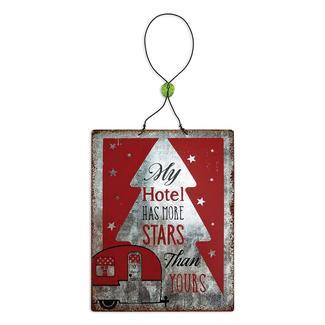 Camper & Stars Ornament