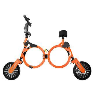 Jupiter Smart Folding Electric Bicycle, Stellar Orange