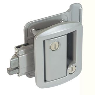 Global Classic Pro Trailer Lock, Gray