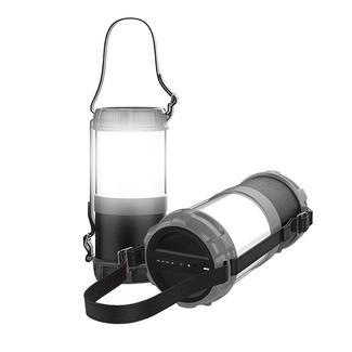 Axess Bluetooth Media Speaker with LED Lantern Function, Black