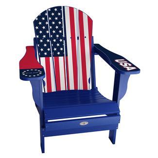 USA Flag Chair, Blue