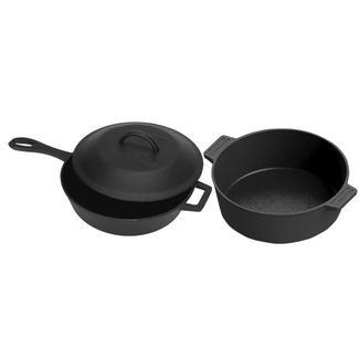 Bayou Classic® 3-pc Cast Iron Cookware Set