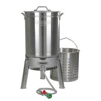 Bayou Classic&reg&#x3b; 44-qt Stainless Boil and Steam Kit