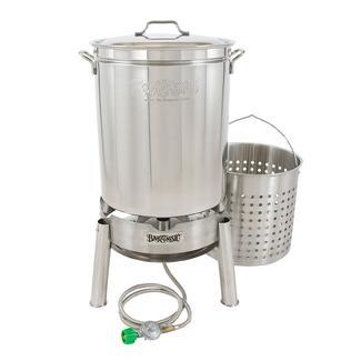 Bayou Classic® Stainless 62-qt Boiler/Steamer Kit