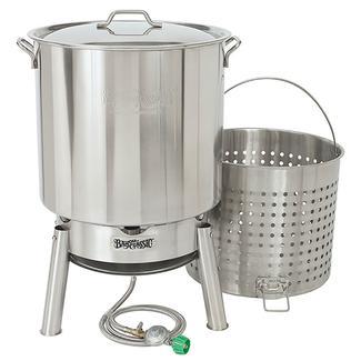 82-qt Stainless Bayou&reg&#x3b; Boiler Kit
