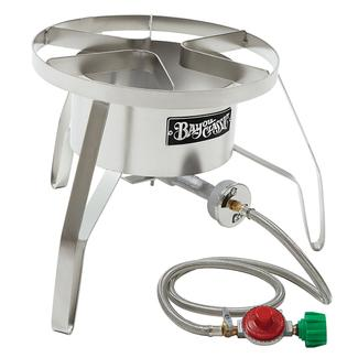 Bayou Classic&reg&#x3b; Stainless HP Cooker 14&quot&#x3b; wide, 10 psi