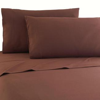Micro Flannel® RV Sheet Set, Short Queen - Chocolate
