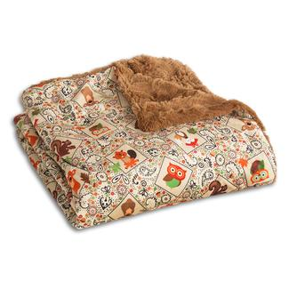 The Throw-Cozy Critters - Tan