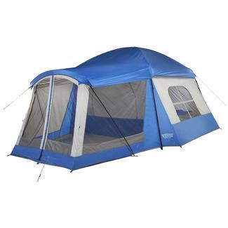 Wenzel Klondike 8 Person Tent - Blue