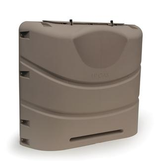 Propane Tank Cover, Bronze (Fits 30 lb. Steel Double Tank)