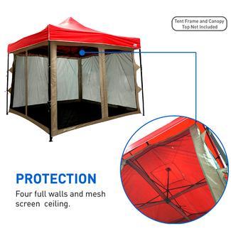 10x10 Canopy Screen House