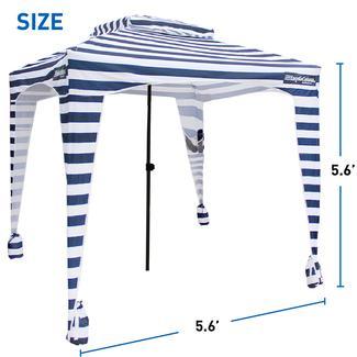 EasyGo Cabana 6&#x27&#x3b; X 6&#x27&#x3b;, Striped