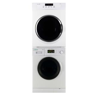 Set of New Version Compact Front Load Washer and Standard Dryer