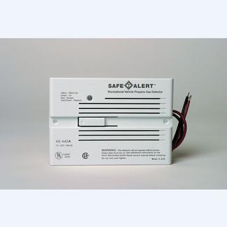 Safe-T-Alert Propane&#x2f&#x3b;Natural Gas Alarm - Flush Mount, White