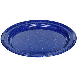 Enamelware 10 Inch Plate, Blue
