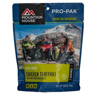 Chicken Teriyaki with Rice Freeze-Dried Meal Pouch
