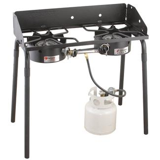 Camp Chef Explorer 2-Burner Outdoor Camping Cooking Stove photo