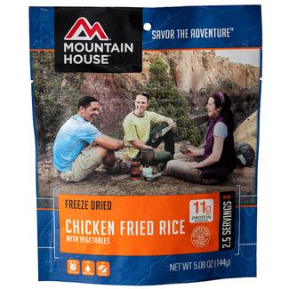 Chicken Fried Rice Freeze-Dried Meal Pouch