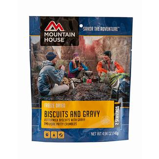 Biscuits and Gravy Freeze-Dried Meal Pouch