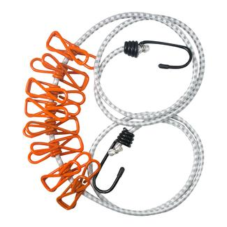 Ultimate Survival Technologies Reflective Clothesline with Stretch Clips