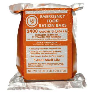 5-Year Emergency Food Ration Bar