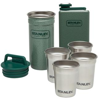 Stanley Adventure Stainless Steel Shot Glass & Classic 8-Oz. Flask Gift Set