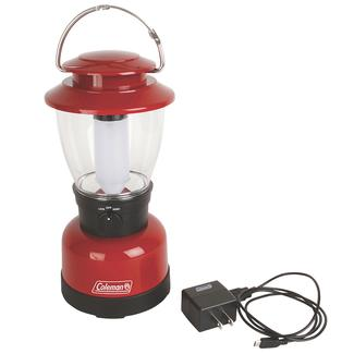 Coleman Classic Rechargeable LED Lantern, Red