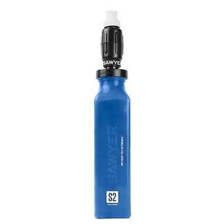 Foam Water Filter and 20-oz., Blue Bottle