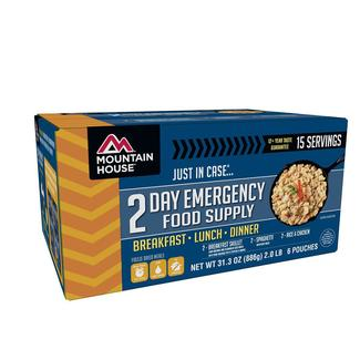Mountain House &quot&#x3b;Just In Case&quot&#x3b; 2-Day Emergency Food Supply