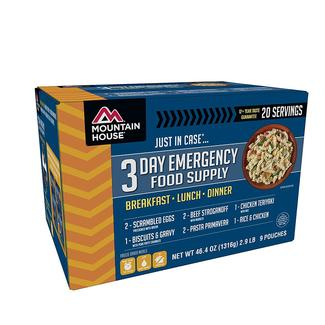 """Mountain House """"Just In Case"""" 3-Day Emergency Food Supply"""