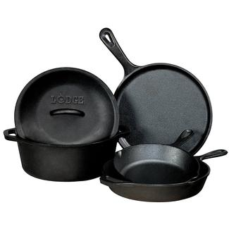 Lodge 5-Piece Cast Iron Set