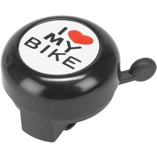 Dimension ''I Heart My Bike'' Black Bell