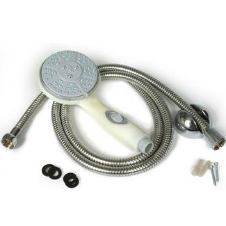 RV/Marine Showerhead Kit - Off-White