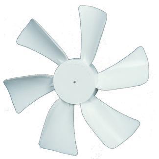 "Replacement Fan Blades, Ventline 3/32"" Round Bore"