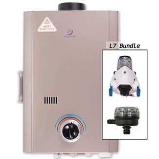 Eccotemp L7 Portable Tankless Water Heater and Flojet Pump