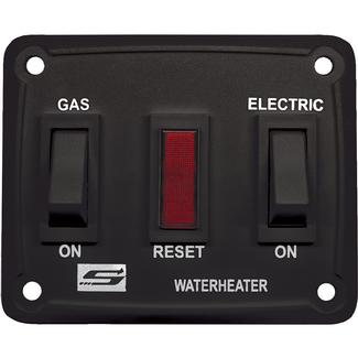 Wall Switch for Suburban DSI LP/Electric Water Heaters, Black