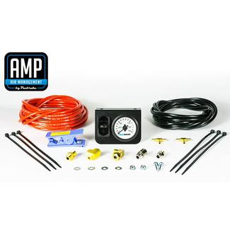 AMP Air Dash Activation Switch with Single Needle Gauge & Single Paddle Switch
