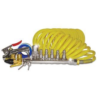 AMP Air Tank &amp&#x3b; Curly Hose Accessory Kit