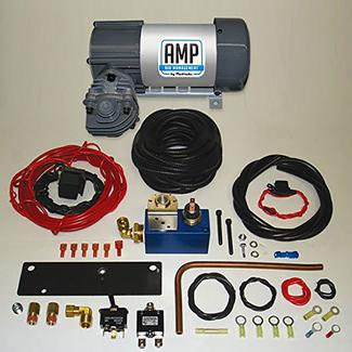 AMP Air 12V HP625 Premium Air Compressor Kit &ndash&#x3b; Horizontal Pump Head