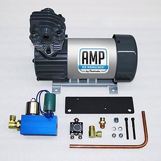 AMP Air 24V HP625 Basic Air Compressor Kit &ndash&#x3b; Vertical Pump Head