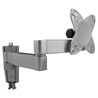 Flat Panel LCD TV Wall Mount Bracket with Double Swing Arm