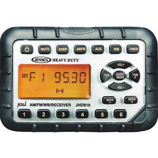 Jensen Mini Waterproof AM/FM/NOAA Stereo