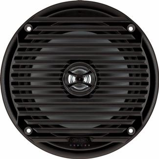 Jensen MS6007BR Black Waterproof Speaker, Set of 2
