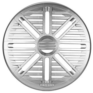"6.5"" Marine Silver Speaker Grille, Pair"