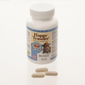 Happy Traveler Calming Capsules, Bottle of 30