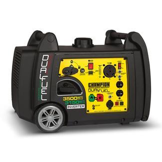 Champion&reg&#x3b; 3500 Watt Dual Fuel Inverter Portable Generator