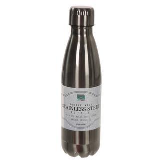 Stainless Steel Bottle, 17 oz., Gun Metal