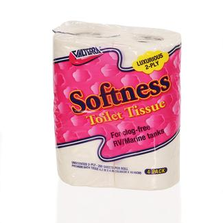 Toilet Tissue 2-Ply, 4 Pack