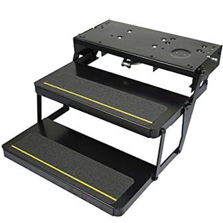 "Kwikee 34 Series Electric Step, Double with 30"" Tread"
